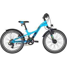 s'cool XXlite 20 7-S - Bicicletas para niños - alloy azul